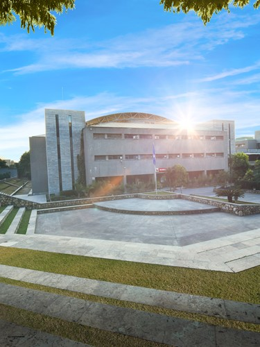 UPES Campus Outside