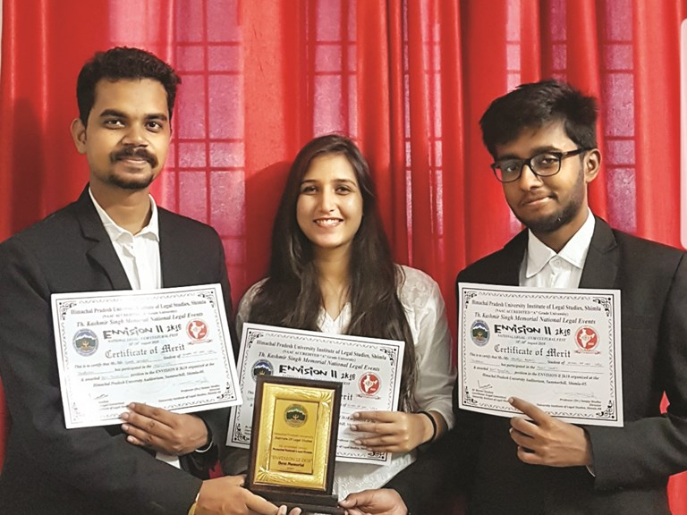 Envision Best Memorial Award Shimla UPES