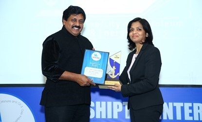 UPES Award for the Port and Shipping Management by Shiptek