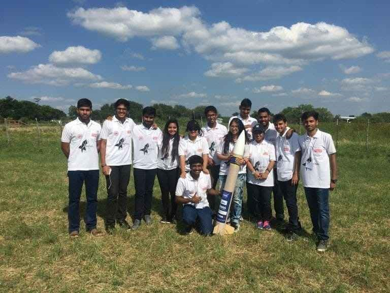 UPES Team Rank 1 in Cansat Competition