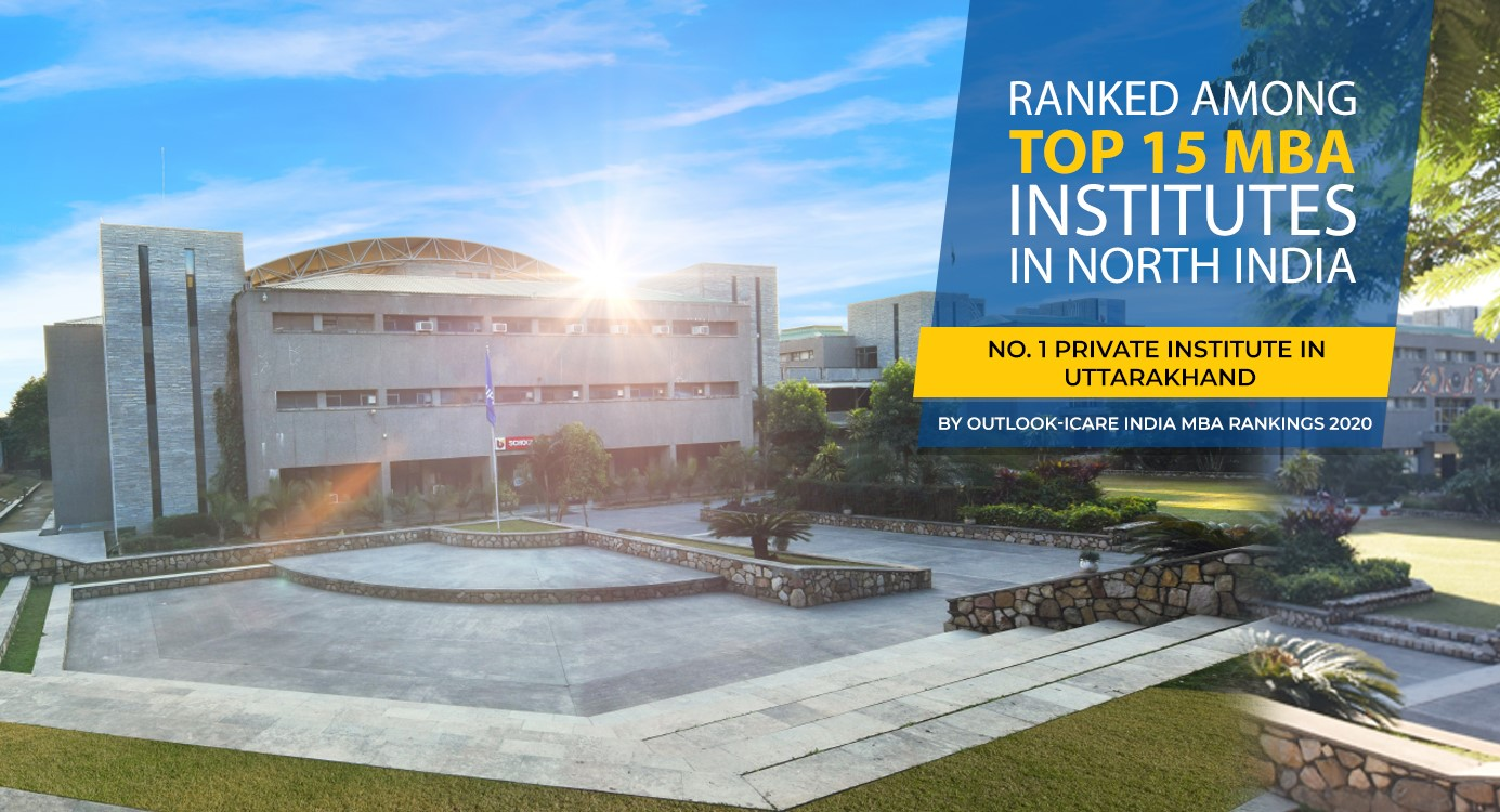 UPES ranked among top-15 MBA institutes in North India by Outlook
