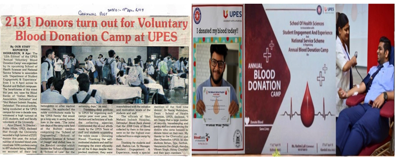 National Service Scheme at UPES